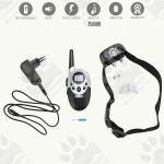Dog Training Model:05 (Dog Training Collar, Remote LCD, Vibration Electric Shock 750M, Waterproof)