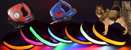 LED нашийници и Аксесоари за кучета